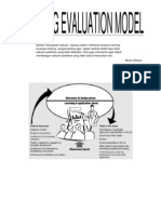 Training Evaluation Model