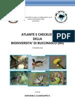 Atlante e Checklist Della Biodiversità di Buccinasco - 2° EDIZIONE