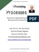 Metal Forming Processes - Hani Aziz Ameen
