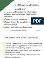 Old Social and Cultural Env