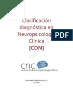 Clasificación Diagnóstica en Neuropsicología