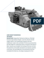 Land Raider Thunderhead