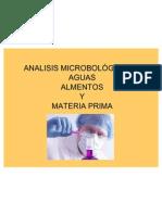 Analisis Microbologico de Aguas