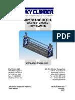 Sky Stage Ultra Boiler Platform(UM 36 100)