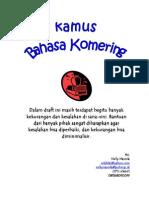 Kamus Bahasa Komering