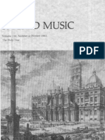 Sacred Music, 110.4, Winter 1983; The Journal of the Church Music Association of America