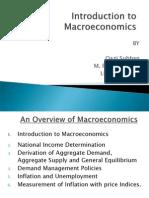 Intro to Macro Economics 2011