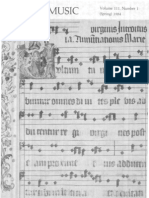 Sacred Music, 111.1, Spring 1984; The Journal of the Church Music Association of America