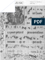 Sacred Music, 111.3, Fall 1984; The Journal of the Church Music Association of America