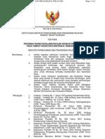 Kepmenpu 384 2004 Tentang Pedoman k3 Pada Proyek Bendungan