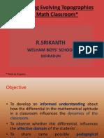 R Srikanth