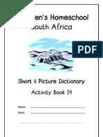 Short i Dictionary Workbook - Donnette E Davis