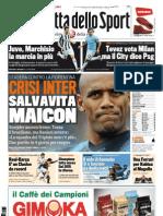 Gazzetta dello Sport - 10/12/2011