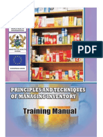 WHO Inventory Manual