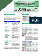 Superia Xtra400 Datasheet