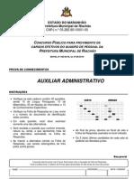 Auxiliar administrativo - Riachão