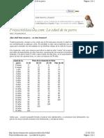 Proyectomascota.com Perros Articulos Edad