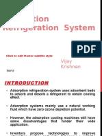 Adsorption Refrigeration