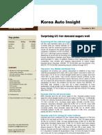 Korea Auto Insight