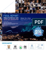 Informe Del Dia Mundial Del Agua 2011