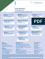 Application Debt and Liquid Schemes