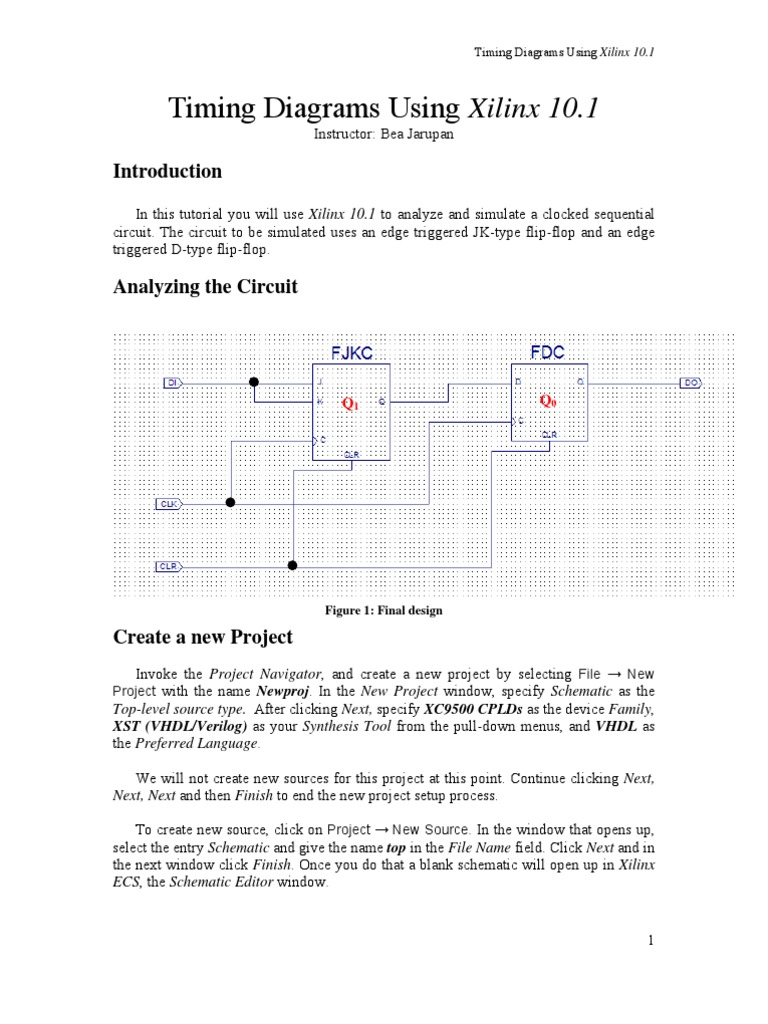206 Flipflop Vhdl Hardware Description Language D Type Flip Flop Circuit Diagram