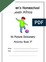 k Dictionary Workbook - Donnette E Davis