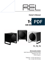 REL T Series Manual