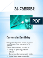 Dental Team and Specialties