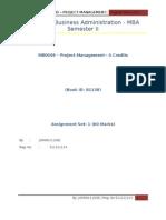 MB 0049-Project Management