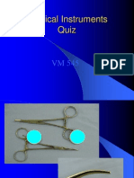 Surgical Instruments Quiz