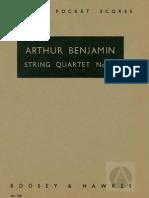 Benjamin - String Quartet No 2
