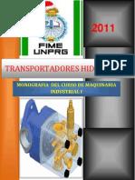 TRANSPORTADORES HIDRAULICOS ORDENADO