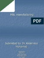 M&L Manufacturing
