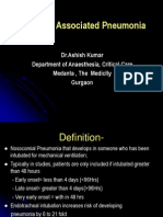 Ventilator Associated Pneumonia Treatment[1]