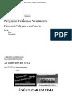 (Imprimir - AS VIRTUDES DE ACSA « Pregações Francisco Nascimento)
