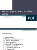 Microscopía de Fuerza Atómica