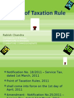 Point of Taxation Rule