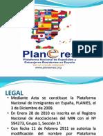 Presentación PDF PLANEERES 2011