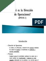 DPO101.1_Que Es La Direccion de Operaciones
