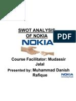 Swot Analysis of Nokia