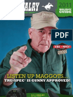 U.S. Cavalry 2011 Holiday Guide • TRU-SPEC is Gunny Approved!