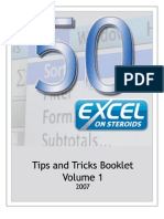 Excel on Steroids Tips and Tricks Vol1