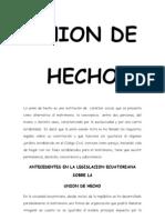 Union de Hecho 1