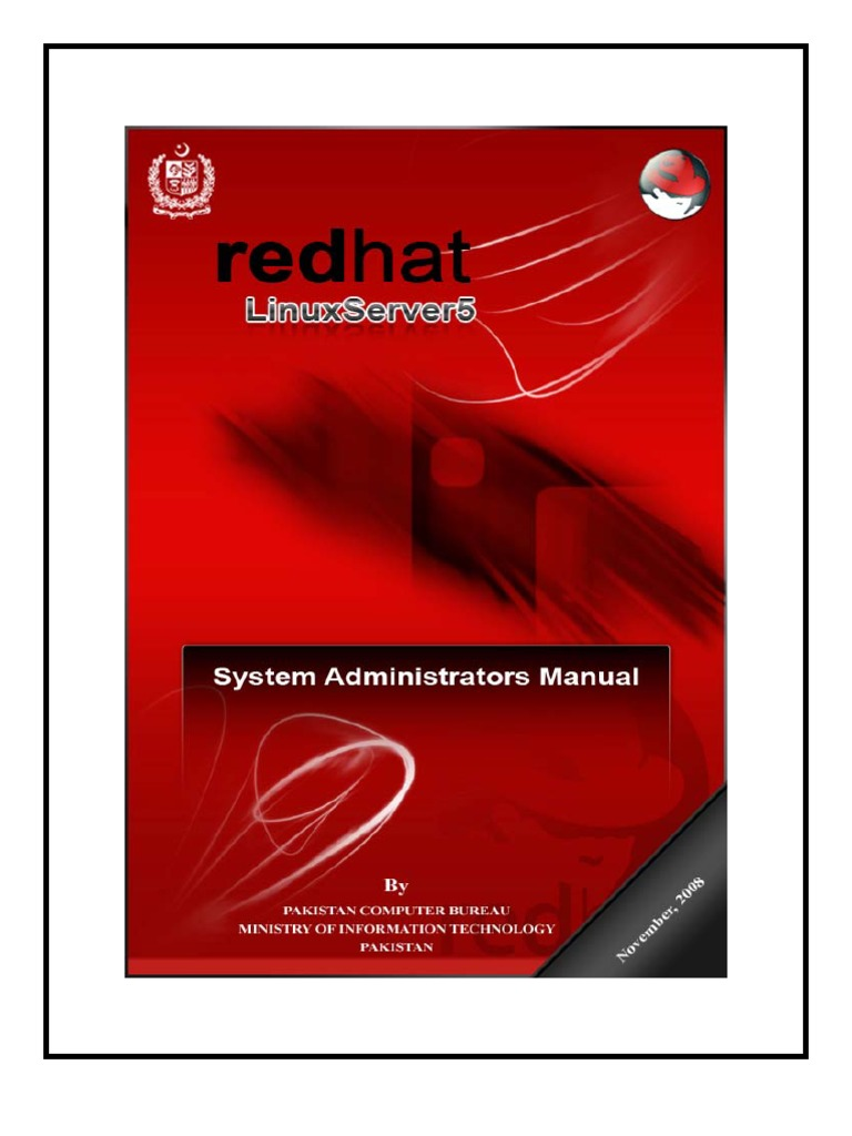 linux system administrator manual