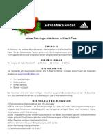 adidasrunning - Adventskalender miCoach