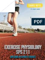 Exercise Physiology Course Notes