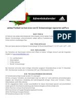 adidasfootball - Adventskalender Schweinsteiger