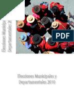 Elecciones Municipales y Departamentales 2010