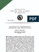 Aortocaval Compression